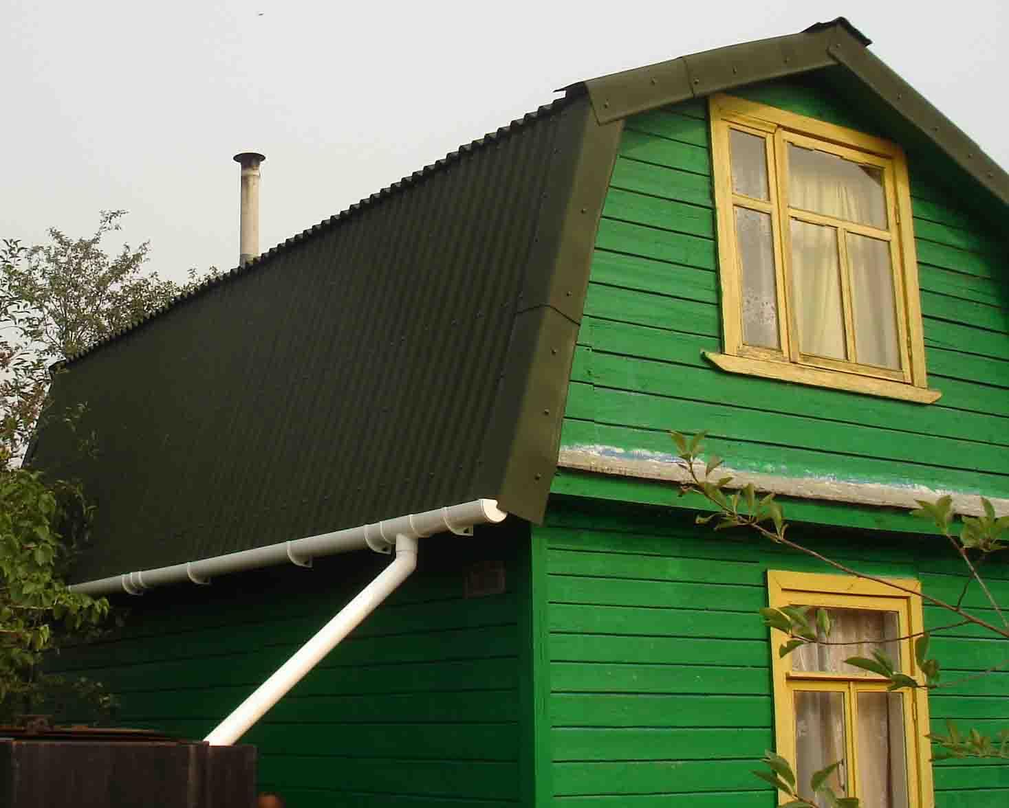 Дом покрыть ондулином своими руками